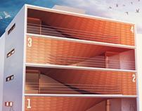 Arquitetura - Estudos Volumétricos 2016