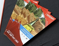 Trifold Brochure ~ Terra Tape Gas Lines