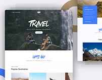 Landing Page - Travel