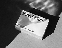 Bath+More Branding / Digital