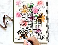 Building Doodles and Florals
