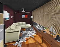 Interior/exterior Design Render of Day