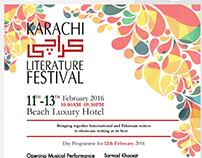 Karachi Literature Design- Poster Design