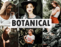 Free Botanical Mobile & Desktop Lightroom Preset
