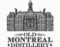 Old Montreal Distillery Illustrated by Steven Noble