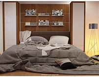 Bedroom interior furniture