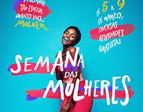 Semana das Mulheres - Shopping Manaus ViaNorte Campanha