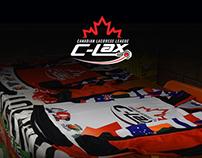 Apparel for the Canadian Lacrosse League online shop