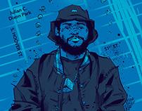 Poster Illustration: ScHoolboy Q.