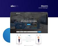 Obezim UI/UX Design
