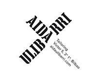 Aida Ulibarri Tailoring. Visual ID