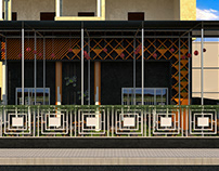 restaurant and cafe in mauritania (exterior )