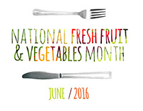 National Fresh Fruit & Vegetables Month