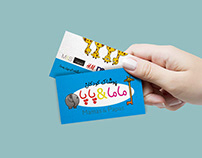Childrens Clothing Business Cards