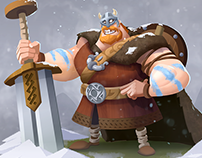 "Characterdesign ""Viking"""