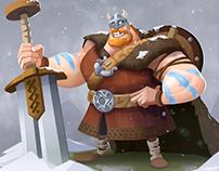 """Characterdesign """"Viking"""""""