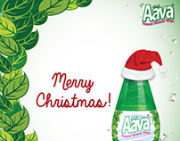 Aava Natural Mineral Water - Social Media Post