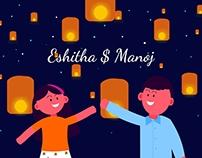 Eshitha & Manoj Save the Date