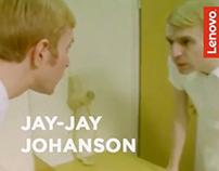 Jay-Jay Johanson is Getting Ready w/ Lenovo