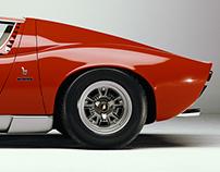 Lamborghini Miura SV (White Studio)