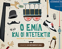 Emil & The Detectives Theater Poster