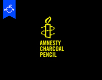 AMNESTY INTERNATIONAL // CHARCOAL PENCIL PROJECT