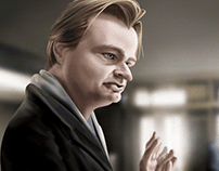 Christopher Nolan - Caricature