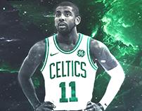 Kyrie Irving Celtics Design