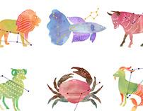 Zodiac Greeting Cards