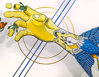 OVEJA NEGRA - Mural & Skateboards