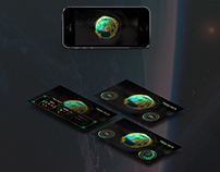 Sci-fi UI   UX Game App