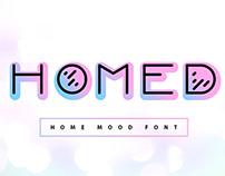 Homed - Gradient Display Font