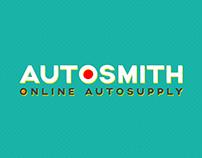 Autosmith Online Autosupply Visual Branding Identity