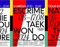 Posters Olympics Paris 2024