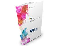 画册设计-美术教育机构宣传画册