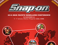 Snap-on Chinese Menu Card (2018 Resellers Conference)