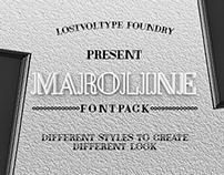 Maroline Fontpack (Free Font)