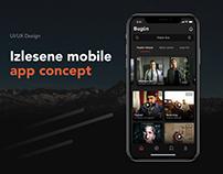Izlesene Mobile App Re-Design Concept