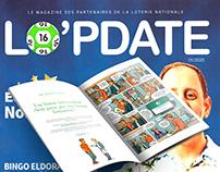 LO'PDATE, le magazine de la Loterie Nationale