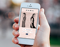 Zara App Redesign Project