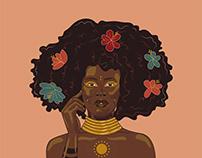 Black Beauty Illustration