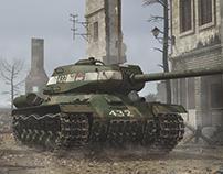 Tank - IS-2 1944