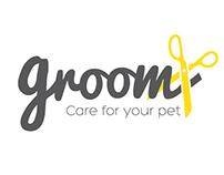 Groom branding concept