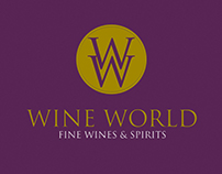 Wine World Web Design