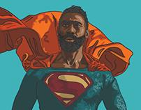Superman : Jonathon Belle (cosplayer)
