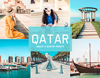 Free Qatar Mobile & Desktop Lightroom Presets