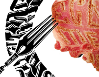 """When the ego meets the meat"" - Massoneria creativa"