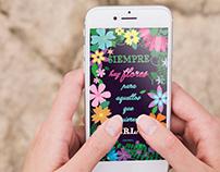 Diseño primaveral / Floral design