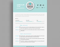 7netic FREE Resume (Vol. 1) | Free 自製履歷 免費下載!