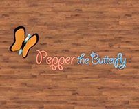 Butterfly Pull Toy Animation